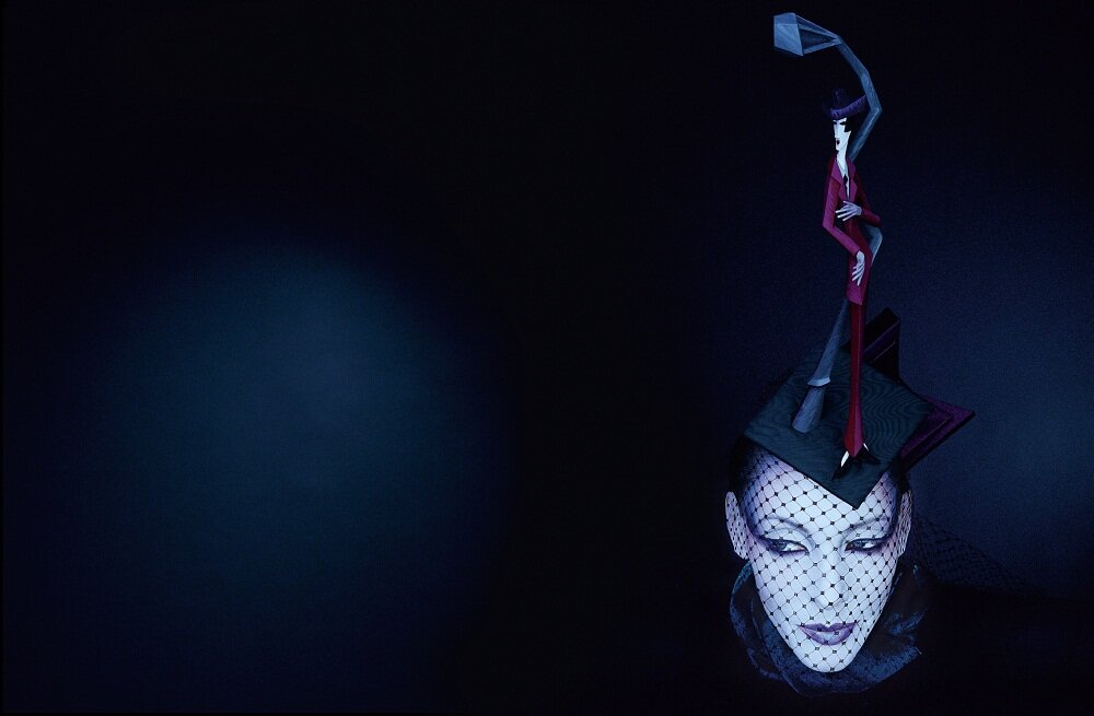 Cathy Gallagher, photographed by Serge Lutens, 1999